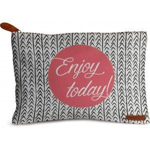 Buy DailyObjects Enjoy Today Carry-All Pouch Medium - Nykaa