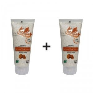 Buy Aaranyaa Exfoliating Almond Face Scrub (Buy 1 Get 1 Free) - Nykaa