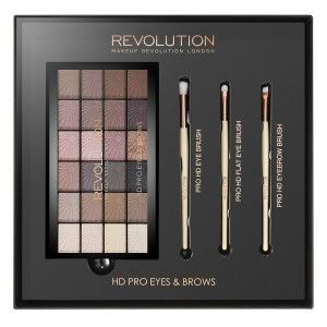 Buy Makeup Revolution HD Pro Eyes & Brows - Nykaa