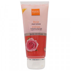 Buy VLCC Skin Defence Rose Face Scrub - Nykaa