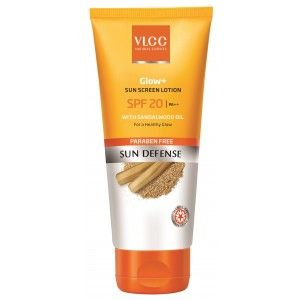 Buy VLCC Glow+ Sun Screen Lotion Spf 20 - Nykaa
