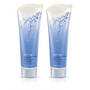 Buy Ozone Ayurvedics Perfect Skin Tone Face Wash + Perfect Skin Tone Hydrant - Nykaa