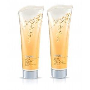 Buy Ozone Ayurvedics Acne Check Face Wash + Acne Healing Mask - Nykaa