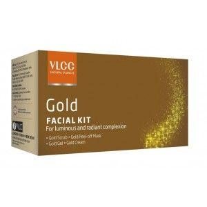Buy VLCC Gold Single Facial Kit - Nykaa