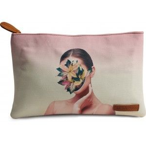 Buy DailyObjects Face Plant Carry-All Pouch Medium - Nykaa