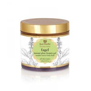 Buy Just Herbs Fagel Instant Glow All-Purpose Beauty Gel - Nykaa