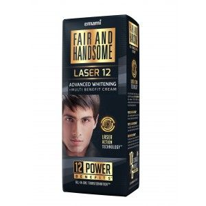 Buy Fair And Handsome Laser12 Advanced Whitening Multi-Benefit Cream - Nykaa