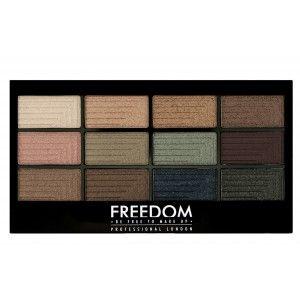 Buy Freedom Pro 12 Eyeshadow Palette - Nykaa