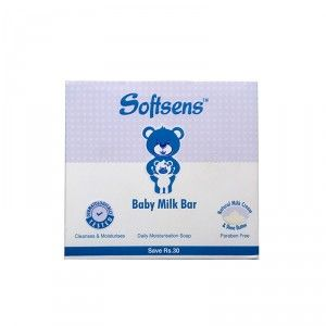 Buy Softsens Baby Milk Bar (Save Rs 30/- Off) - Pack Of 3 - Nykaa