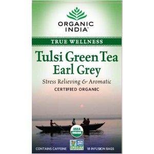 Buy Organic India Tulsi Earl Grey Tea (25 Tea Bag) - Nykaa
