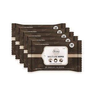 Buy Sirona MUWI Multi Use Wipes (Pack of 5) - Nykaa