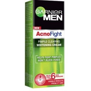 Buy Garnier Men Acno Fight Pimple Clearing Whitening Cream - Nykaa