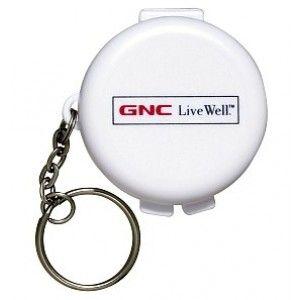 Buy Gnc Keychain Pill Box 1S - Nykaa