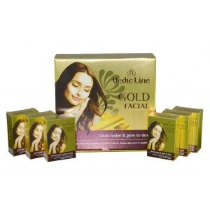 Buy Vedic Line Gold Ojas Facial Gives Luster & Glow To Skin - Nykaa