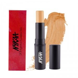 Buy Nykaa SKINgenius Foundation Stick Conceal Contour & Corrector - Nykaa