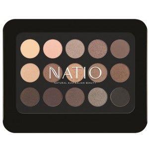 Buy Natio Natural Shades Eyeshadow Palette - Golden - Nykaa