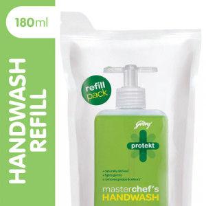 Buy Godrej Protekt Refill Pouch Masterchef Handwash 150 + Washes - Nykaa