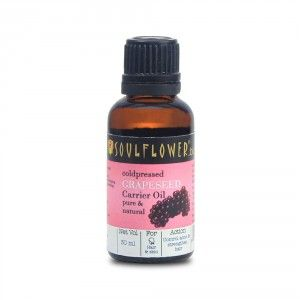 Buy Soulflower Grapeseed Carrier Oil - Coldpressed - Nykaa