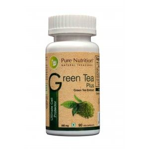 Buy Pure Nutrition Green Tea Plus 90 Capsules - Nykaa