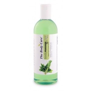 Buy The Body Care Green Tea & Lemon Grass Body Massage Oil - Nykaa