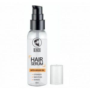 Buy Beardo Hair Serum Fights Graying Of Hair - With Argan Oil - Nykaa