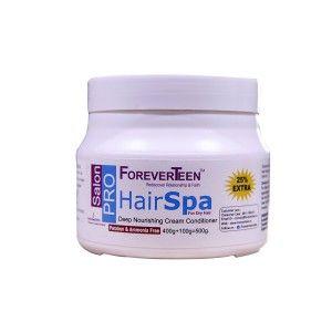 Buy ForeverTeen Hair Spa Deep Nourishing Cream Conditioner Parban & Ammonia Free (25% Extra) - Nykaa