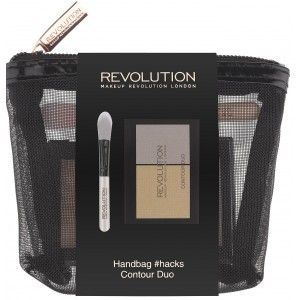 Buy Makeup Revolution Handbag Hacks Contour Duo - Nykaa