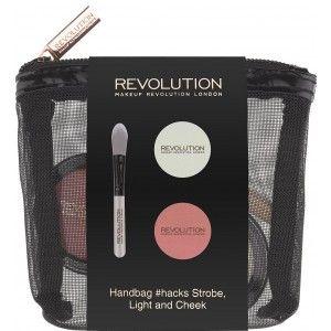Buy Makeup Revolution Handbag Hacks Strobe Light And Cheek - Nykaa