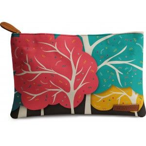 Buy DailyObjects Happy Forest Carry-All Pouch Medium - Nykaa