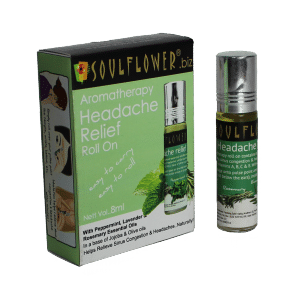 Buy Soulflower Aromatherapy Headache Relief Roll On - Nykaa