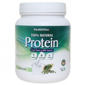 Buy HealthViva 100% Natural Protein Unflavoured - Nykaa