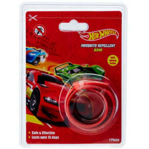 Buy Hot Wheels Mosquito Repellent Band Coated with Citronella Oil - Nykaa
