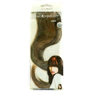 Buy Balmain Paris Hxp 1 Pc Color 30Cm Hair Extension - Elegant Brown - Nykaa