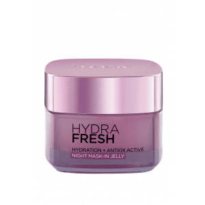 Buy L'Oreal Paris HydraFresh Hydration + Antiox Active Night Mask -in Jelly - Nykaa