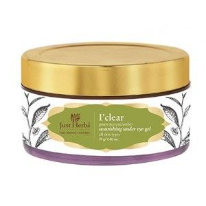 Buy Just Herbs I'Brite Almond-Green Tea Nourishing Under Eye Cream - Nykaa