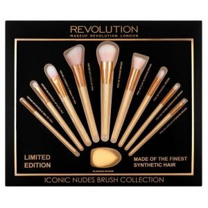 Buy Makeup Revolution Iconic Nudes Brush Collection - Nykaa