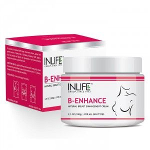 Buy INLIFE Natural Breast Enlargement Cream For Improvement in Breast Size - Nykaa