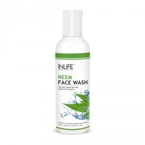 Buy INLIFE Natural Neem Face Wash Soap And Paraben Free For Acne And Black Spots - Nykaa
