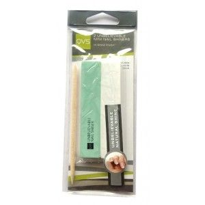 Buy QVS 2 Unbelievable Mini Nail Shiners With Cuticle Stick - Nykaa