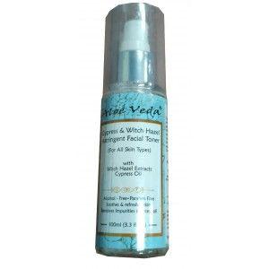 Buy Aloe Veda Cypress & Witch Hazel Astringent Facial Toner - Nykaa