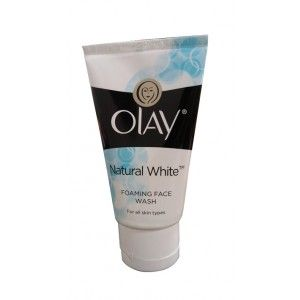 Buy Olay Natural White Fairness Foaming Face Wash Cleanser 50g - Nykaa