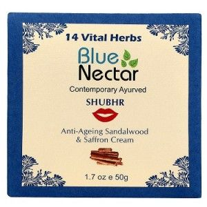 Buy Blue Nectar Anti Ageing Sandalwood & Saffron Face Cream For Women - Nykaa