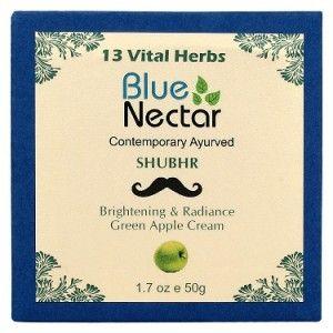 Buy Blue Nectar Brightening & Radiance Green Apple Face Cream For Men - Nykaa