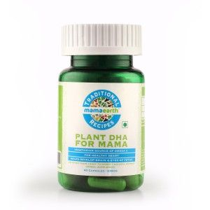 Buy Mamaearth Traditional Recipes Plant DHA For Mama - 60 Capsules - Nykaa