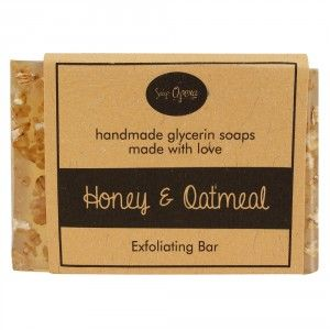 Buy Soap Opera Honey & Oatmeal Exfoliating Bar - Nykaa