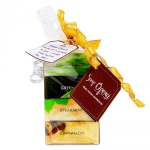 Buy Soap Opera Gift Pack of 3 + Free 1 Soaps Worth Rs. 99/- - Nykaa