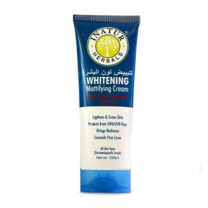 Buy Inatur Whitening Mattifying Cream Face Daily Skin Perfector SPF - 20 - Nykaa