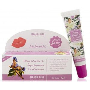 Buy Island Kiss Organic Lip Balm - Alma Vanilla & Inges Lavender - Nykaa