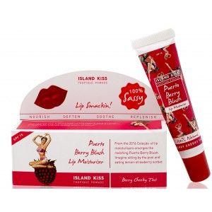Buy Island Kiss Puerto Berry Blush Lip Moisturiser SPF15 - Nykaa