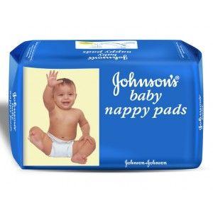 Buy Johnson's Baby Nappy Pads - Nykaa